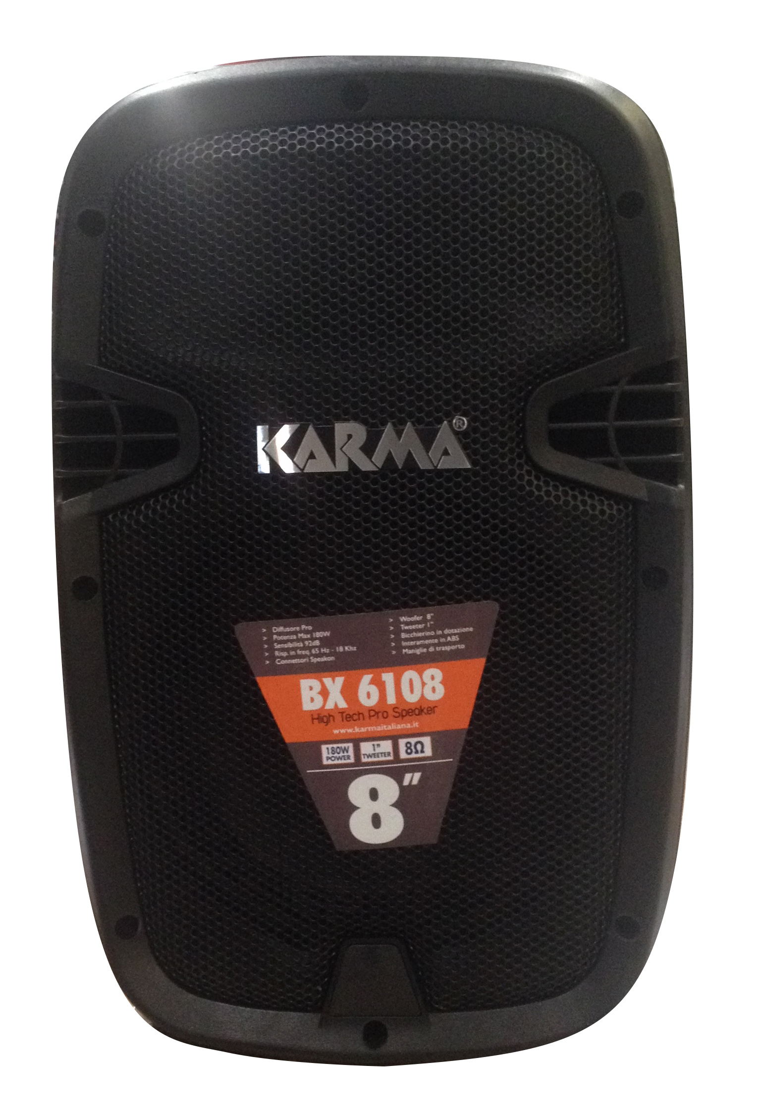 Diffusore in ABS 180W KARMA BX 6108