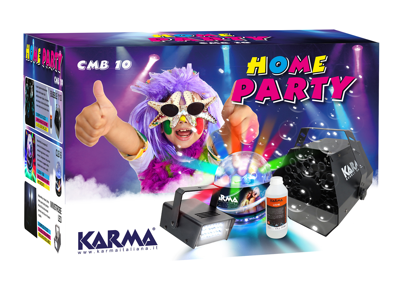 Kit Home Party KARMA CMB 10
