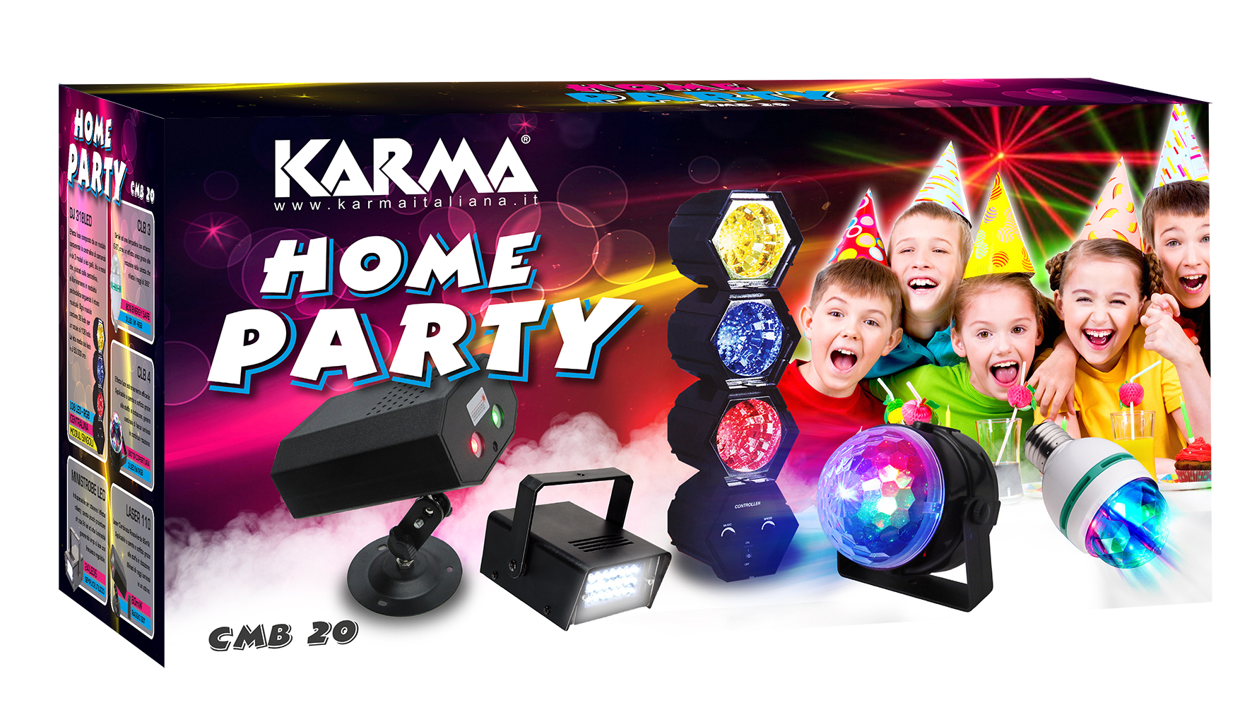 Kit Home Party KARMA CMB 20