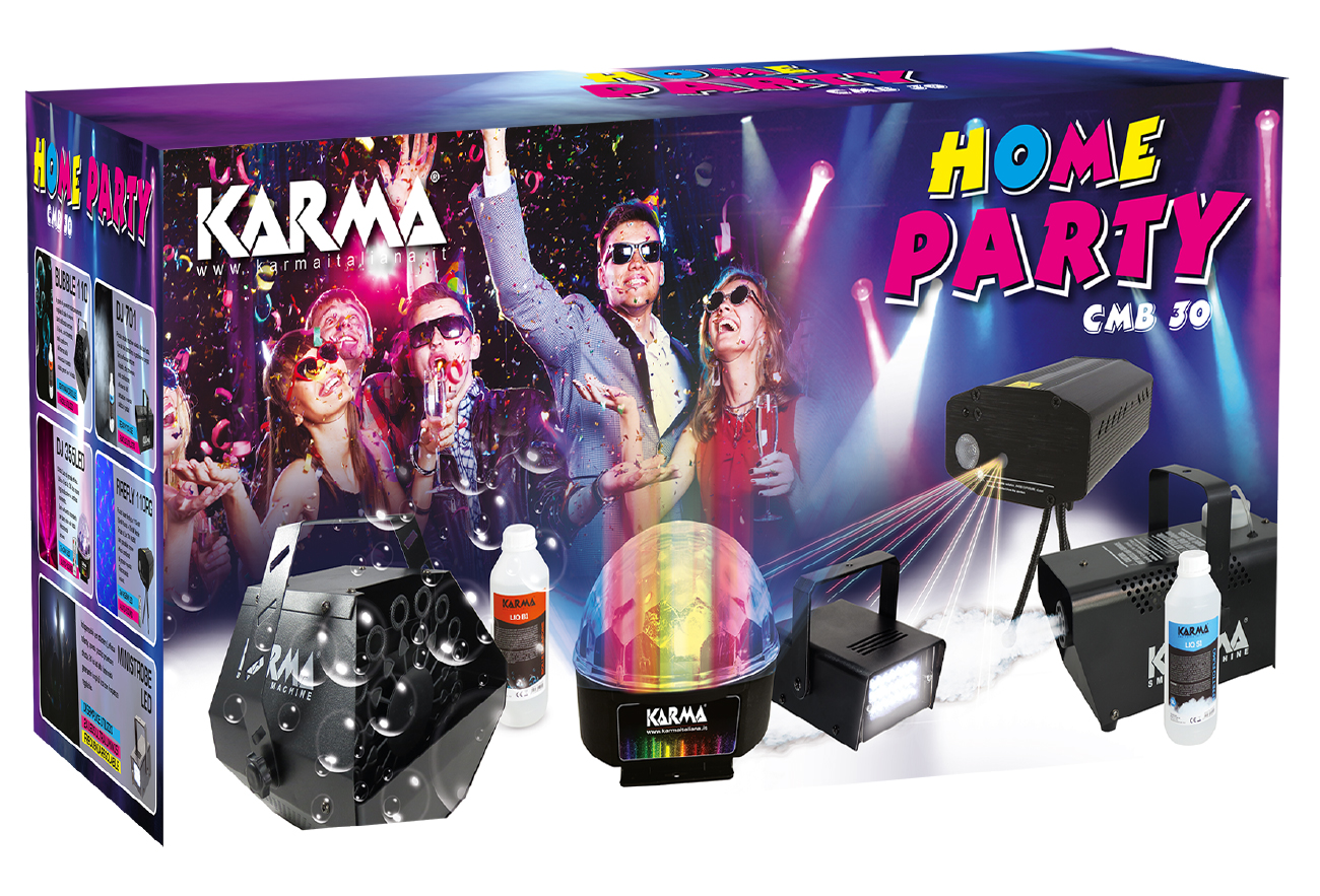 Kit Home Party KARMA CMB 30