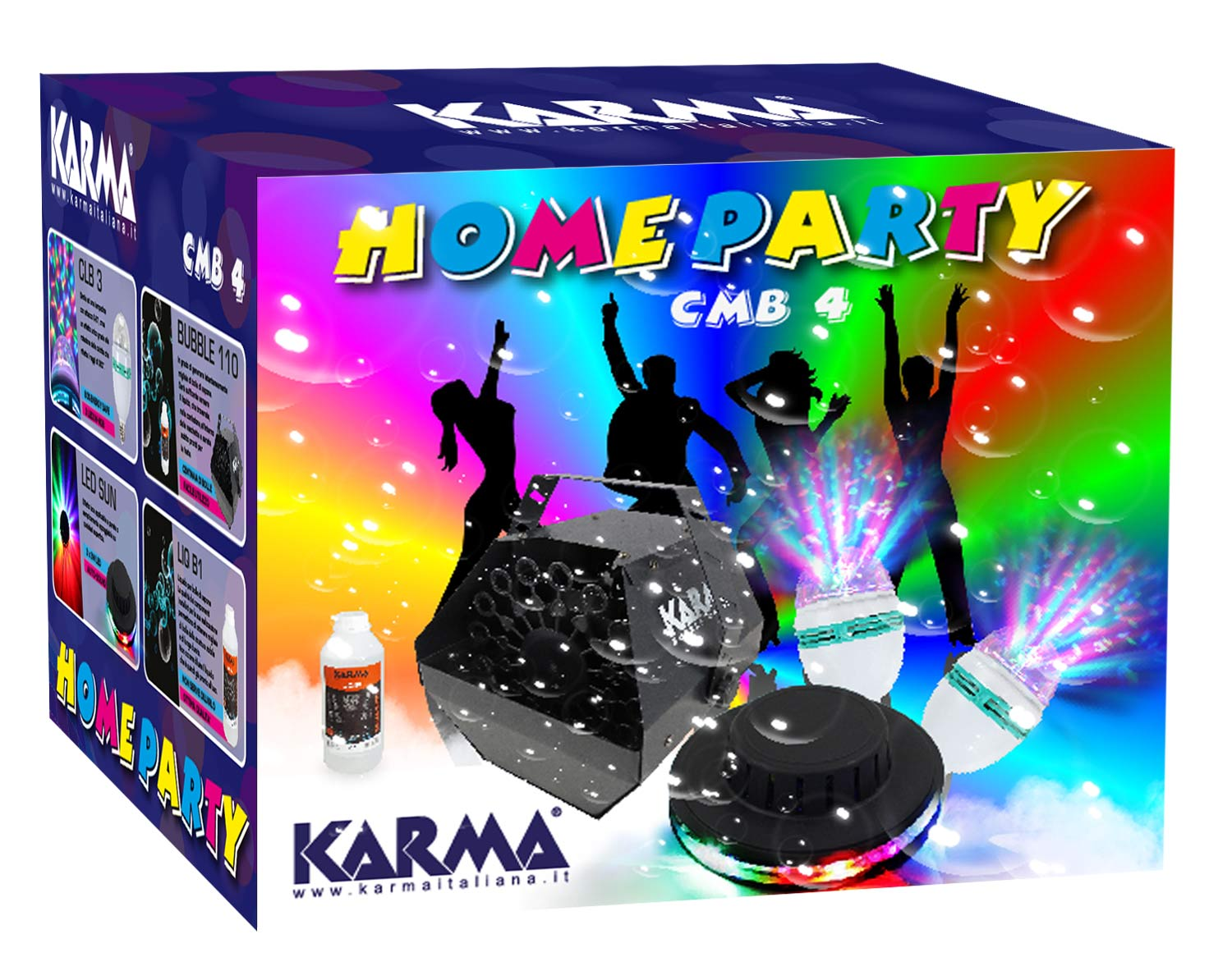 Kit Home party KARMA CMB 4