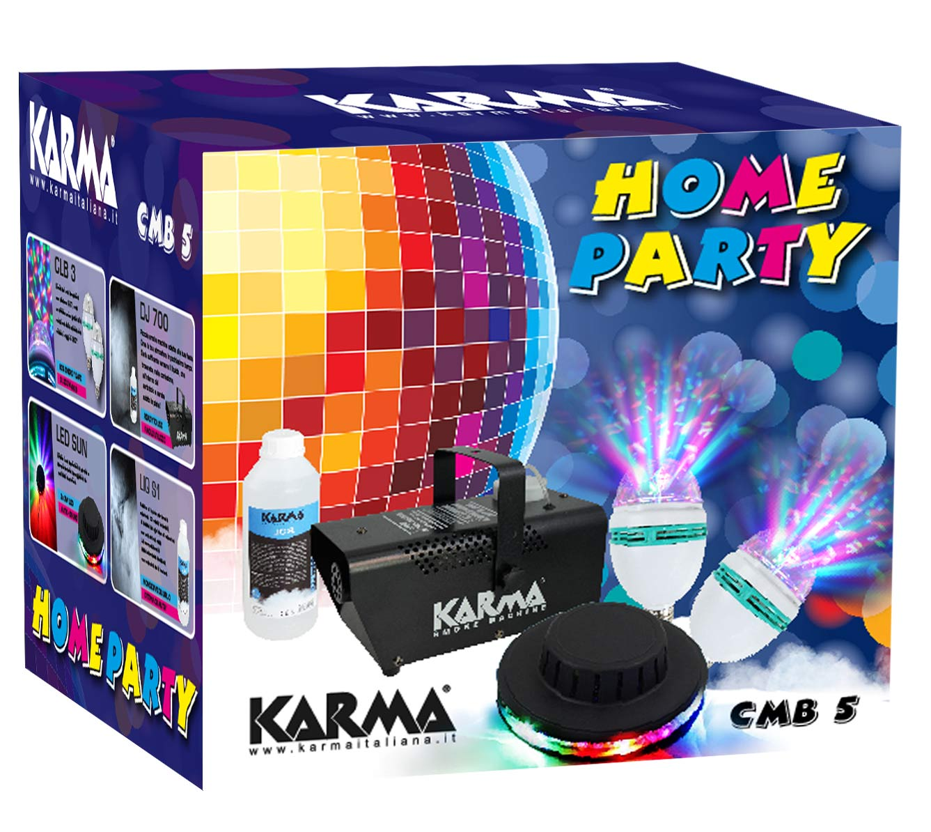 Kit Home party KARMA CMB 5