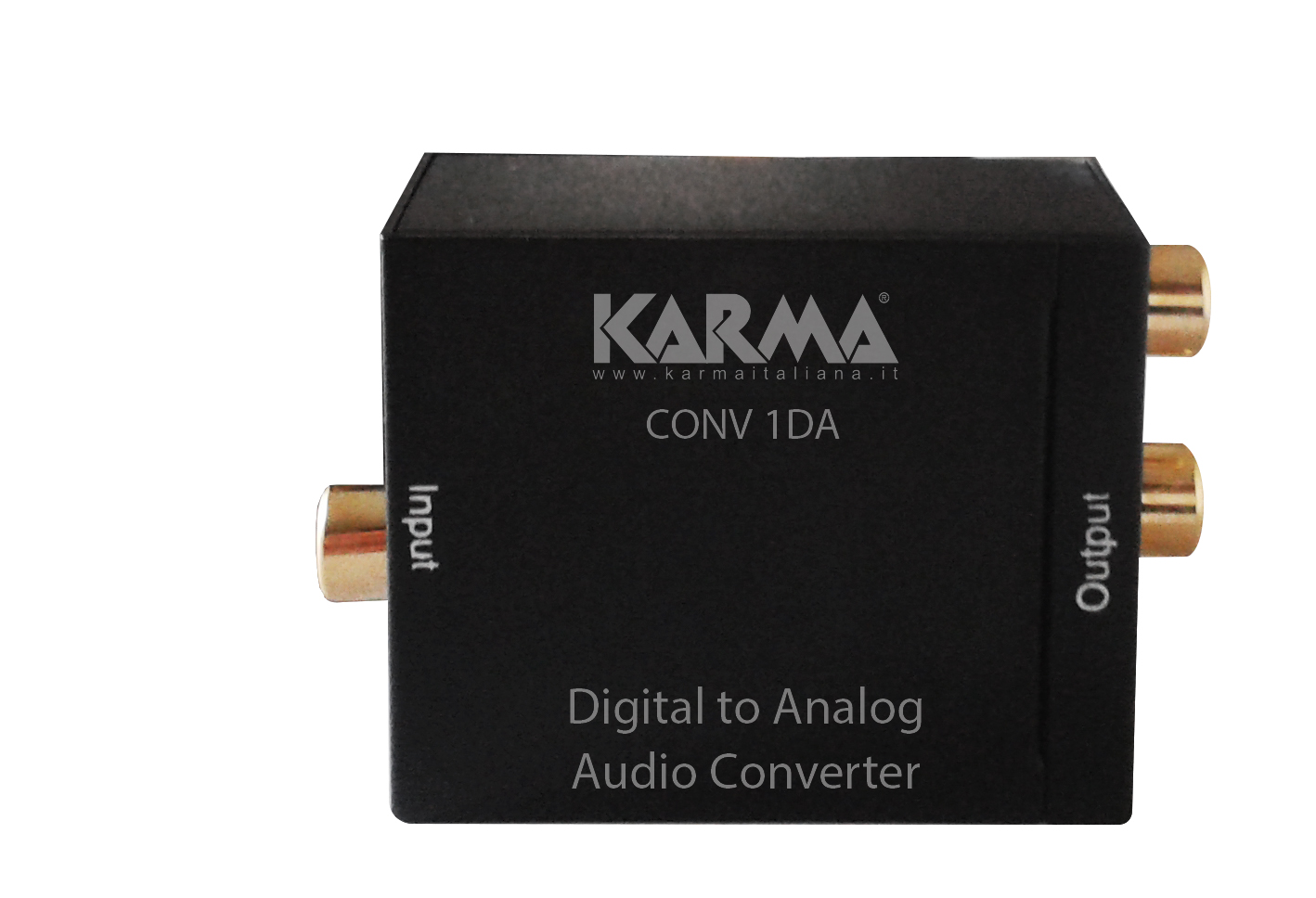 Convertitore audio digitale - analogico KARMA CONV 1DA