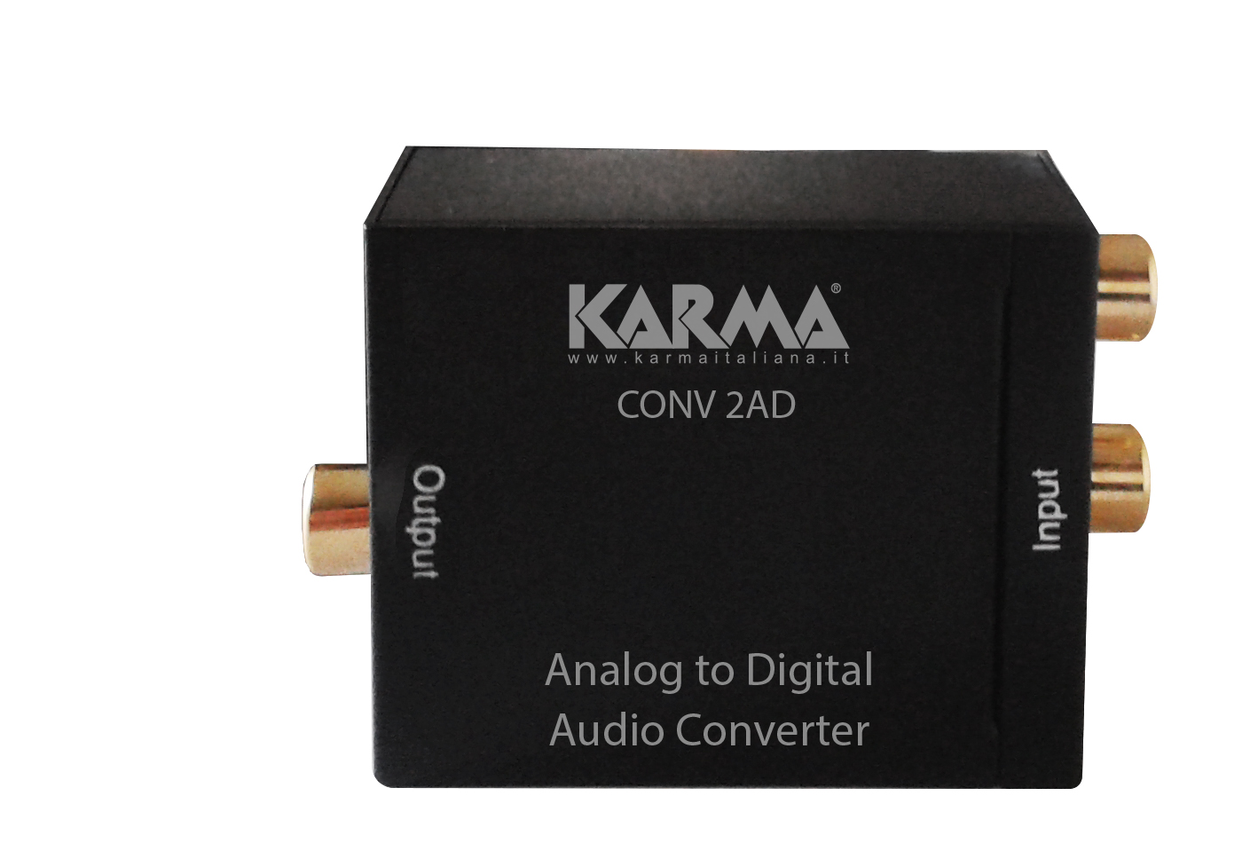 Convertitore audio analogico - digitale KARMA CONV 2AD