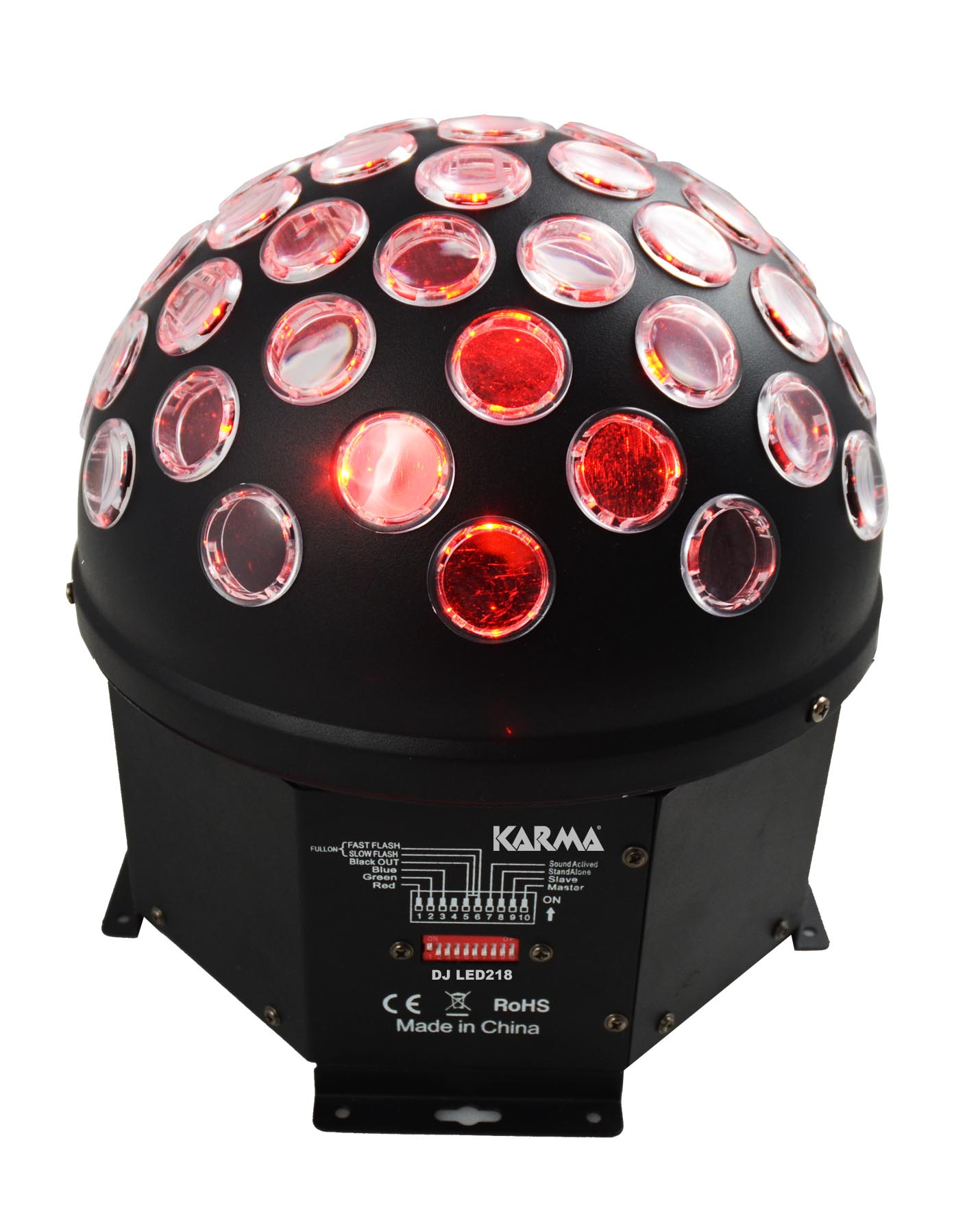Sfera a led KARMA DJ LED218
