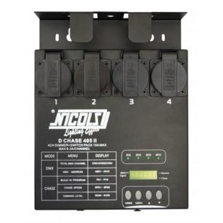DCHASE 405 III - Dimmer luci DMX