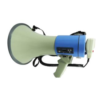 GT 1228USB - 25W megaphone with recorder and MP3 player